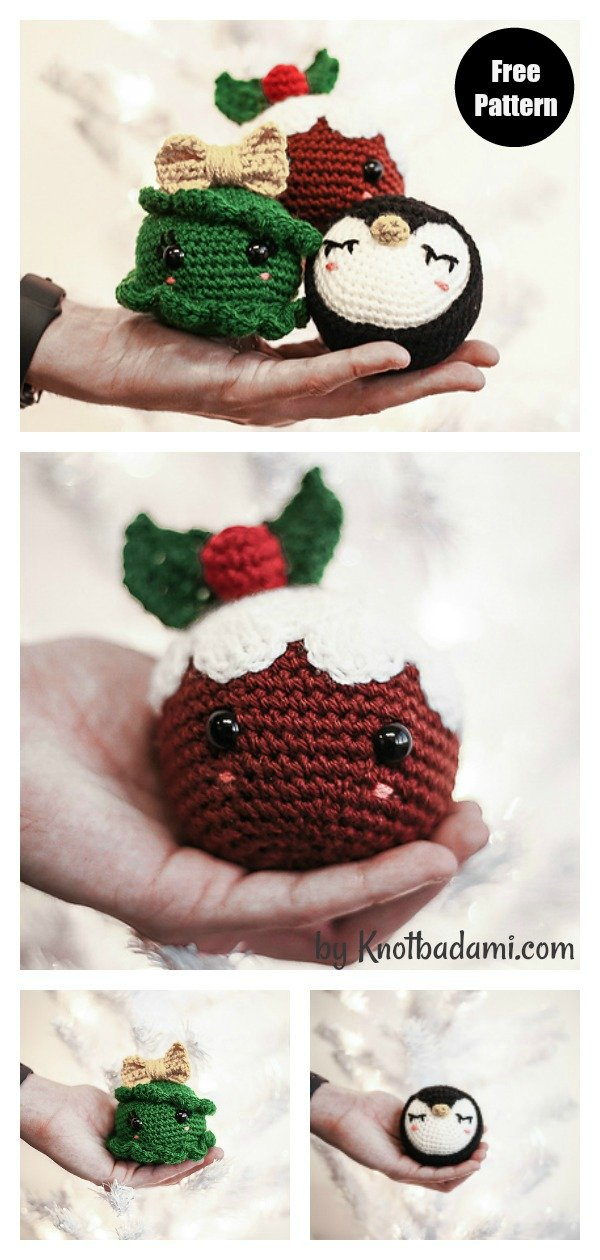 Knot a Bad Christmas Ornament Collection Free Crochet Pattern