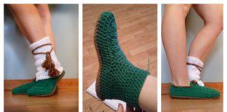 Quick Slipper Free Crochet Pattern