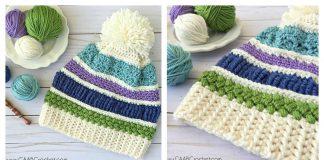 Scrap Buster Sampler Hat Free Crochet Pattern