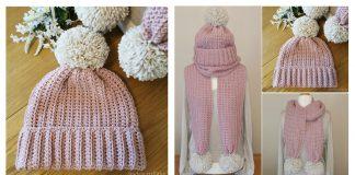 Simplicity Hat & Scarf Free Crochet Pattern