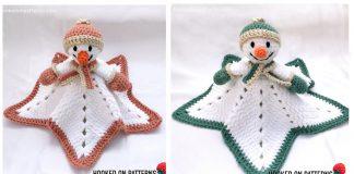 6 Snowman Lovey Crochet Patterns