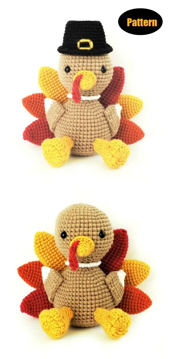 Turkey Amigurumi Crochet Pattern