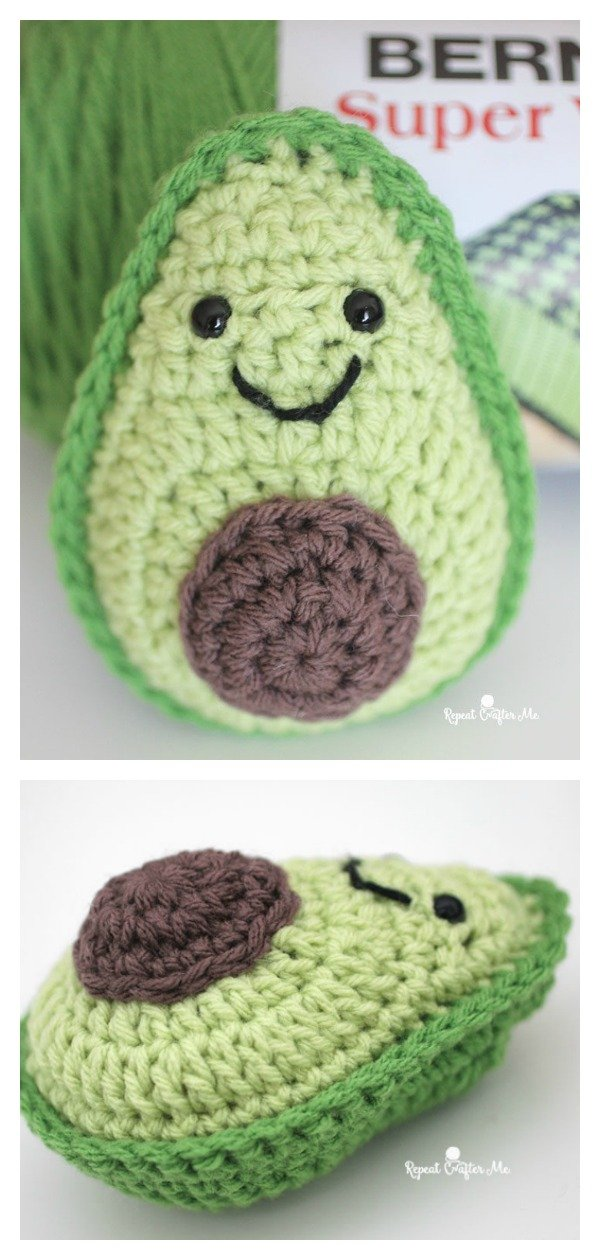 Adorable Avocado FREE Crochet Pattern