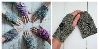 Adorable Fingerless Mitts Free Crochet Pattern