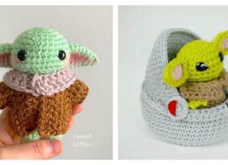 Baby Yoda Free Crochet Pattern