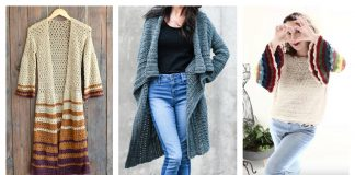Boho Style Sweater Free Crochet Pattern