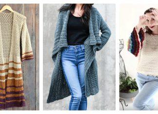 Boho Style Sweater Free Crochet Pattern