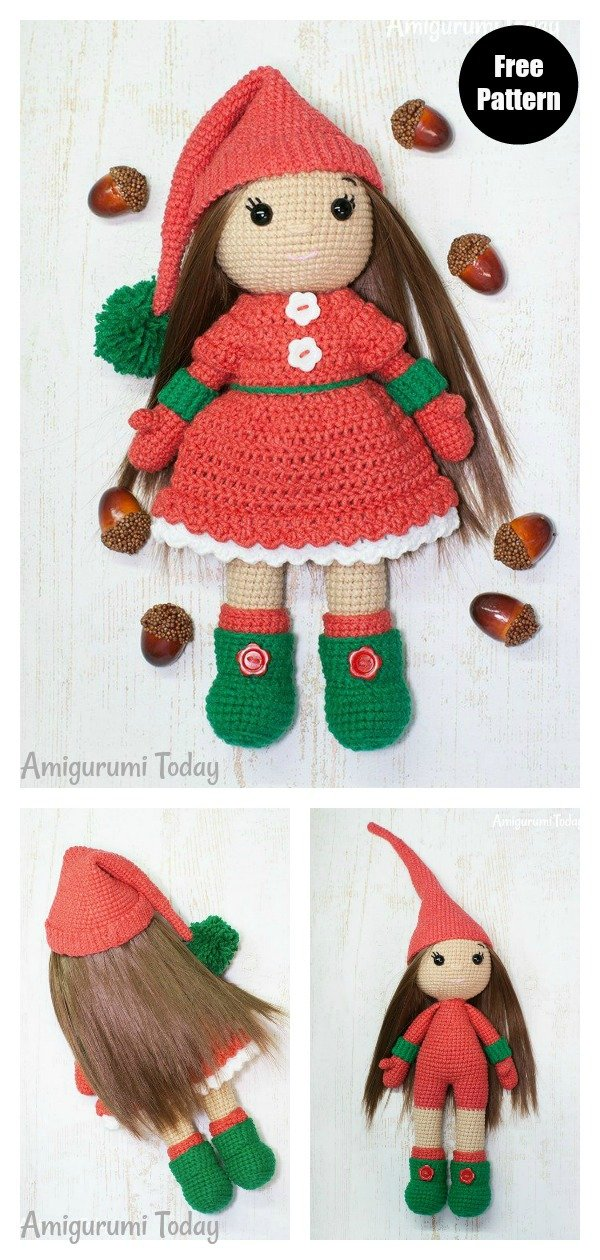 Amigurumi Doll - Basic Body. FREE Patterns Too! - 7 Robots | 1260x600