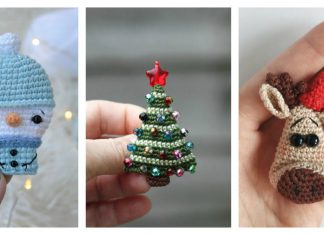 Christmas Brooch Crochet Patterns and Project