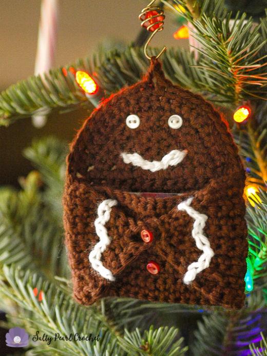 Gingerbread Hugs Gift Card Holder
