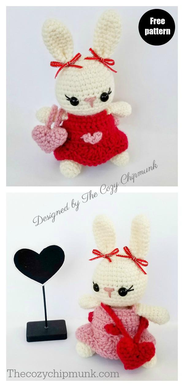 My Bunny Valentine Free Crochet Pattern