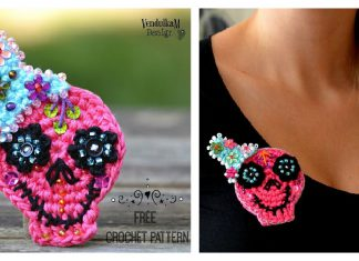 Adorable Brooch Free Crochet Pattern