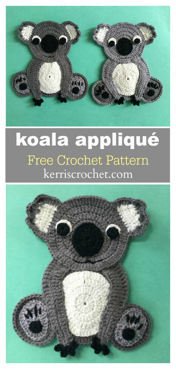 32+ Creative Free Crochet Applique Patterns - crochetnstyle.com | 1260x600