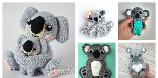 Adorable Koala Free Crochet Pattern and Paid