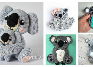 Adorable Koala Free Crochet Pattern and Paid
