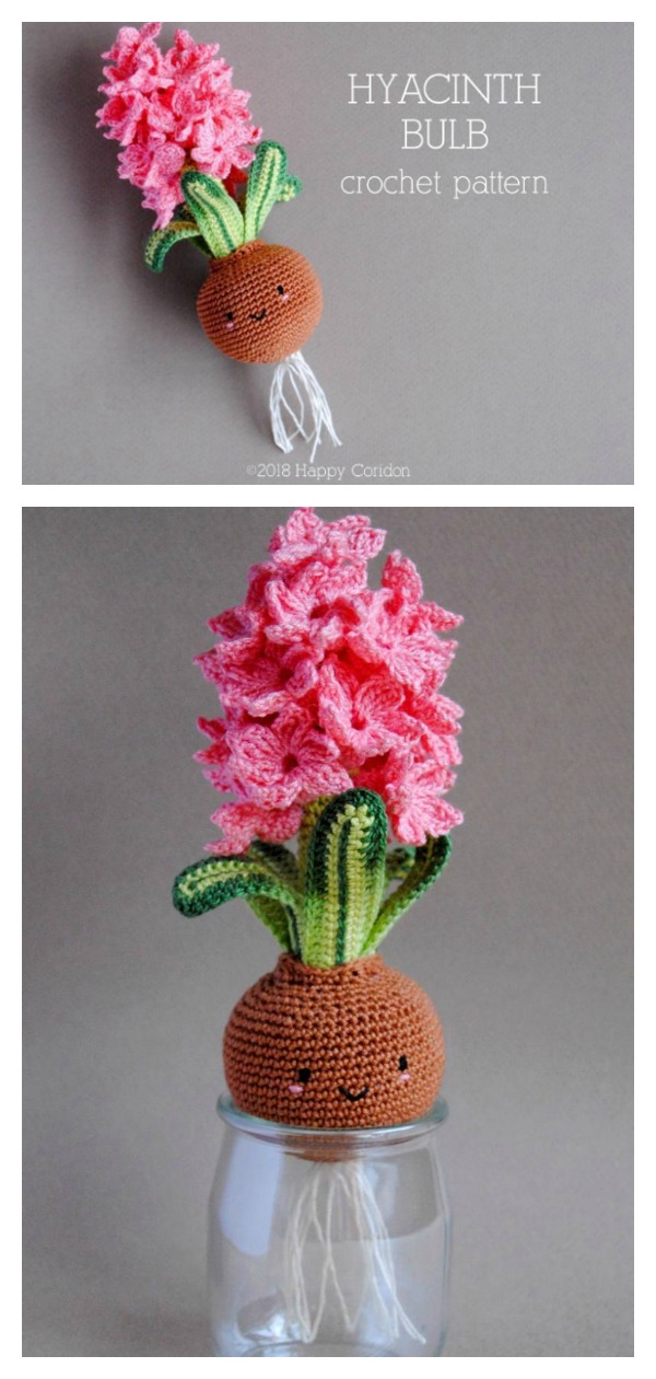 Crochet Pattern - Spring Bulbs | Amigurumi Flower Bulbs Pattern ... | 1260x600