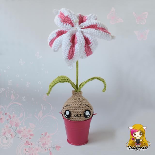 Amigurumi Lily Flower Bulb Free Crochet Pattern