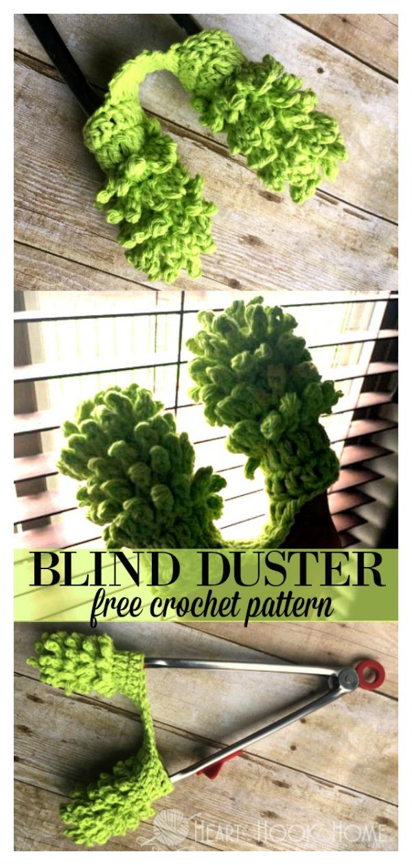 Blinds Cleaner Free Crochet Pattern