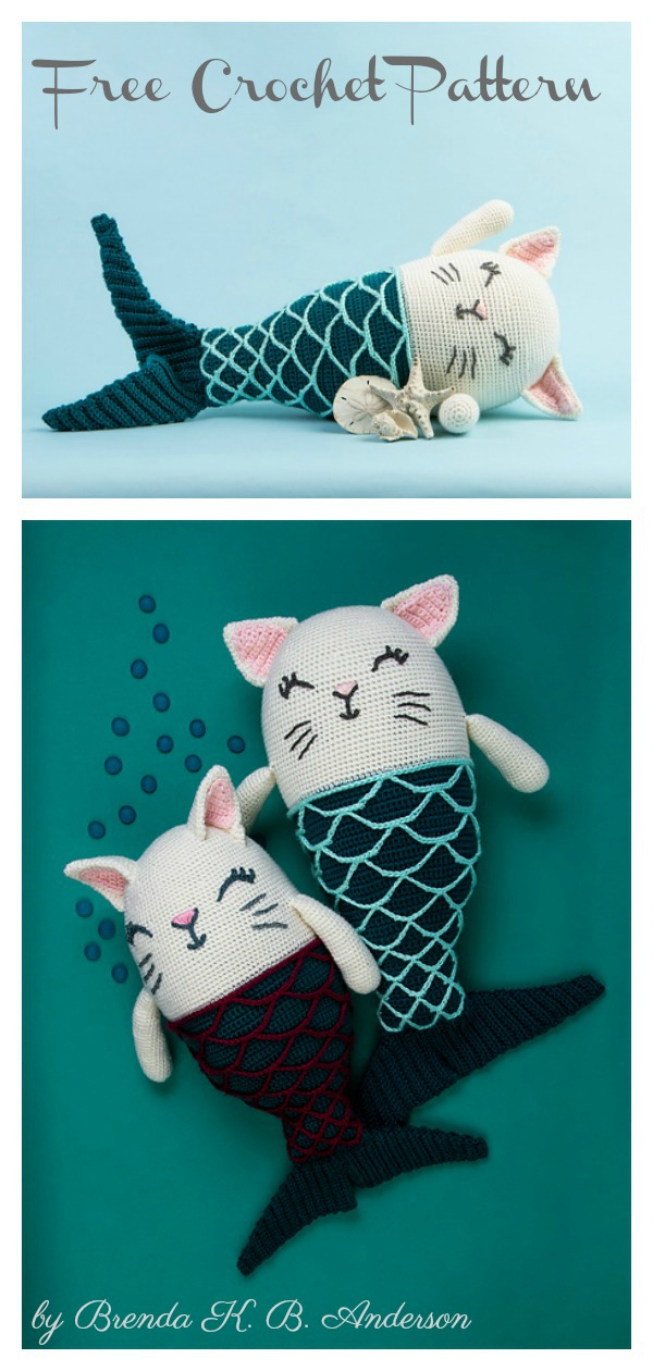 Crochet a Kitty-Cat Granny Square Pillow … So Many Cats … All The ... | 1260x600
