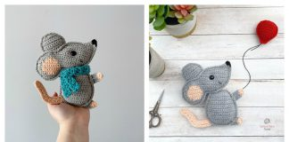 Chinese New Year Rat Free Crochet Pattern and Paid