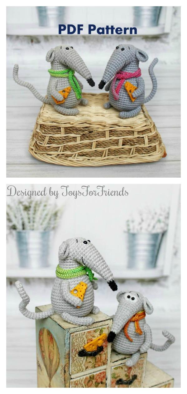 Little Rat Crochet Pattern