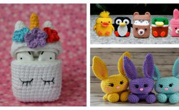 Adorable Airpods Case Crochet Pattern