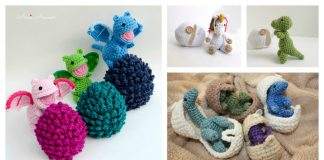 Amigurumi Animal Hatching Egg Free Crochet Pattern and Paid