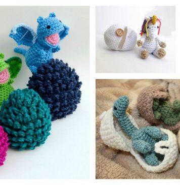 Amigurumi Animal Hatching Egg Free Crochet Pattern and Paid