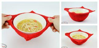 Bowl Cozy Free Crochet Pattern