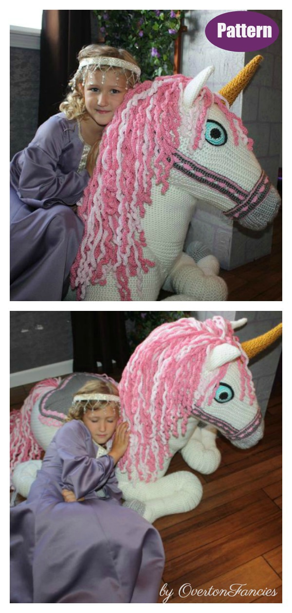 Celeste the Unicorn Crochet Pattern