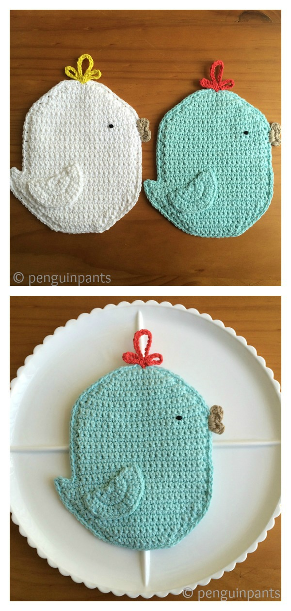 Chicken Potholder Free Crochet Pattern And Paid Page 2 Of 2