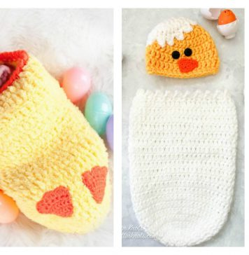 Easter Cocoon Photo Prop Crochet Patterns