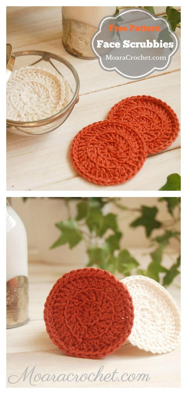 Face Scrubbies Free Crochet Pattern