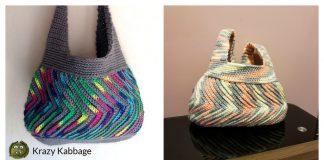 Fast-forward Chevron Bag Free Crochet Pattern