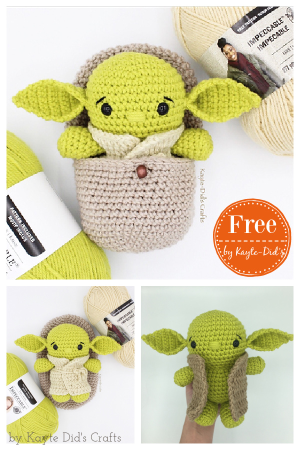 Hatching Alien Free Crochet Pattern