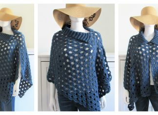 Just Beachy Summer Poncho Free Crochet Pattern