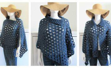 Just Beachy Summer Poncho Free Crochet Pattern
