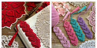Lovely Heart Bookmark Free Crochet Pattern