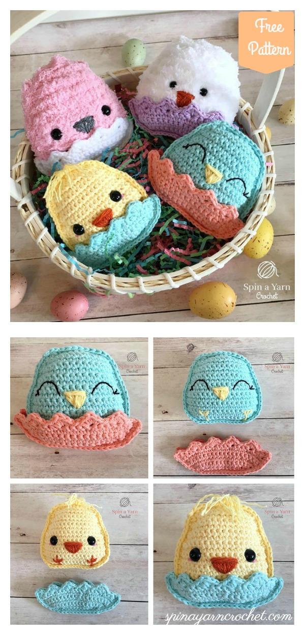Ragdoll Chubby Spring Chicks Free Crochet Pattern