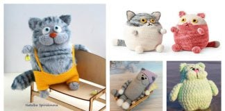 Adorable Fat Cat Free Crochet Pattern and Paid