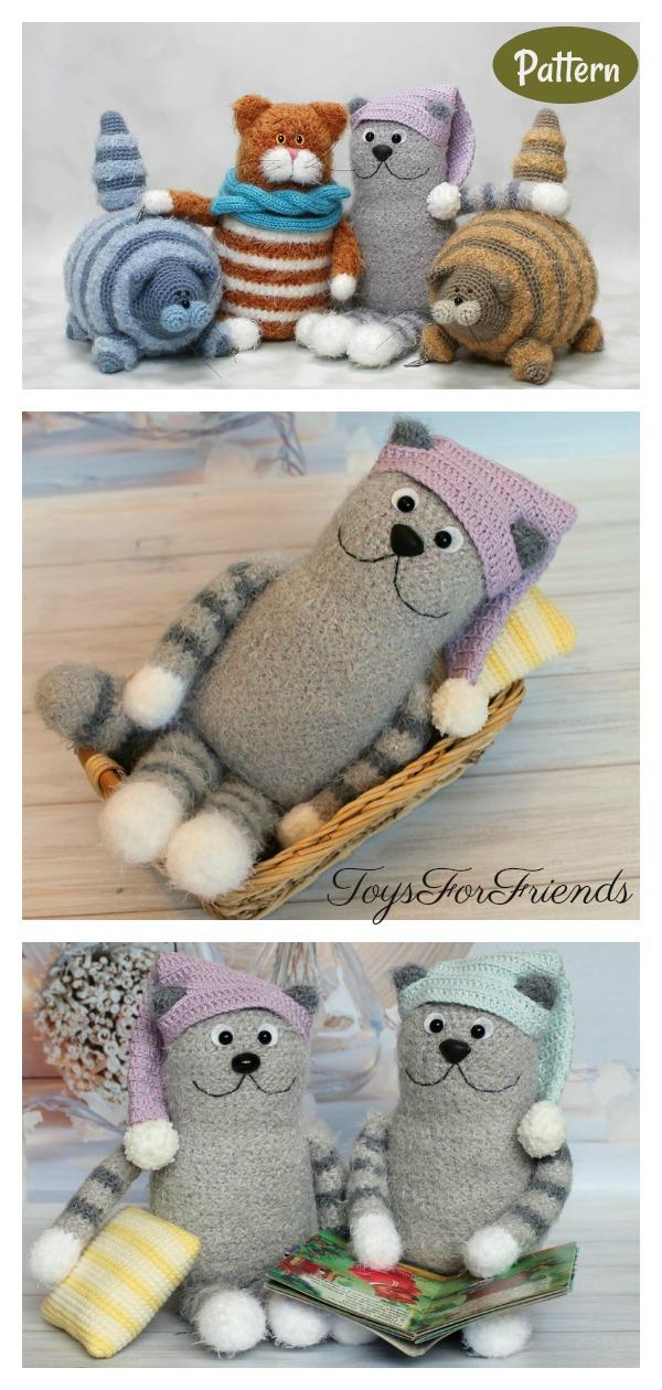 Amigurumi Fat Cat Crochet Pattern