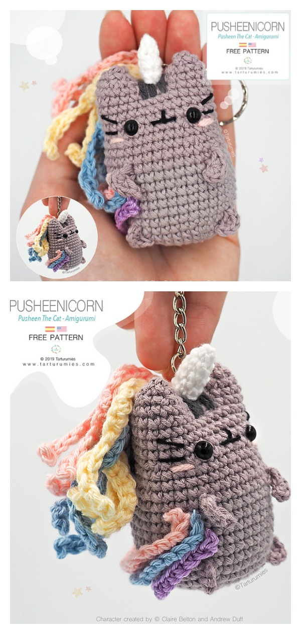 Amigurumi Pusheenicorn Pusheen The Cat Free Crochet Pattern