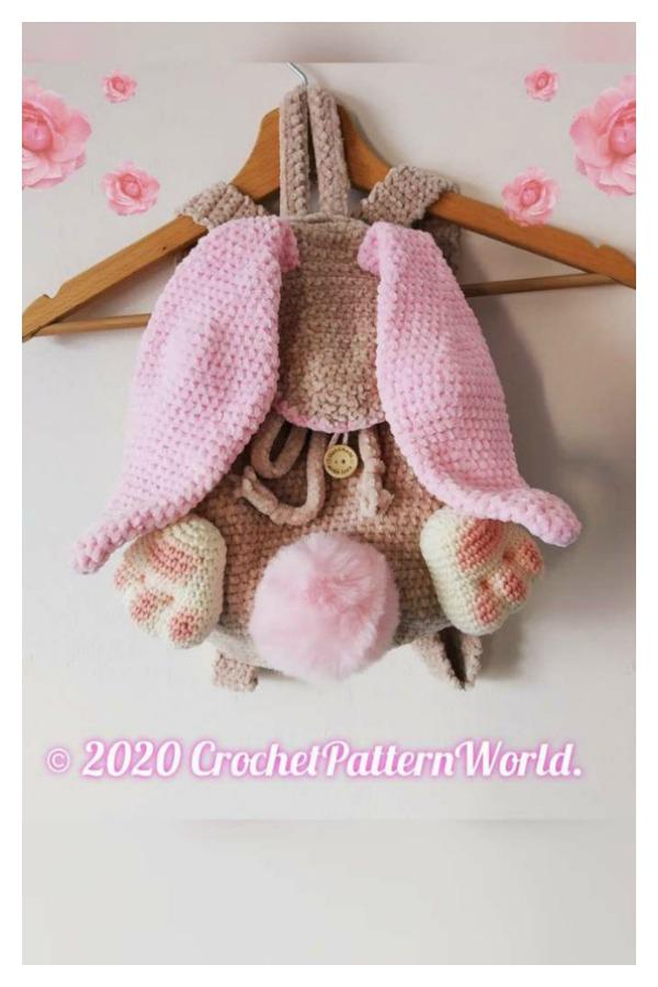 Bunny Backpack Crochet Pattern