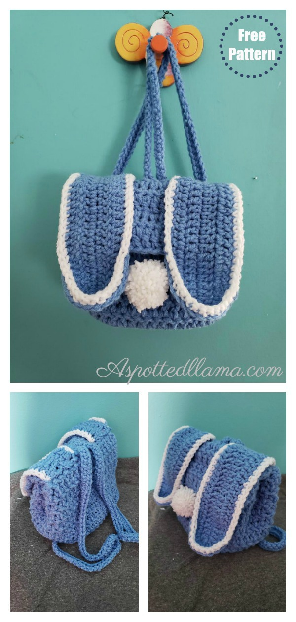 Bunny Backpack Free Crochet Pattern
