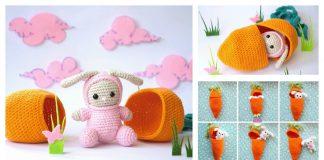 Bunny Playset Free Crochet Pattern