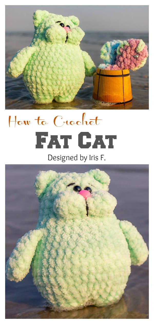 How to Crochet Adorable Fat Cat