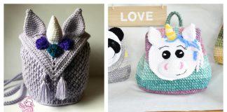 Unicorn Backpack Free Crochet Pattern Paid