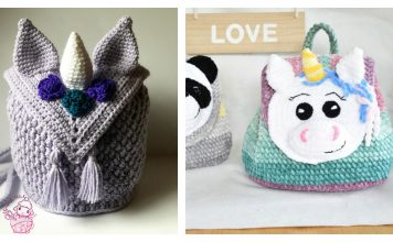 Unicorn Backpack Free Crochet Pattern Paid