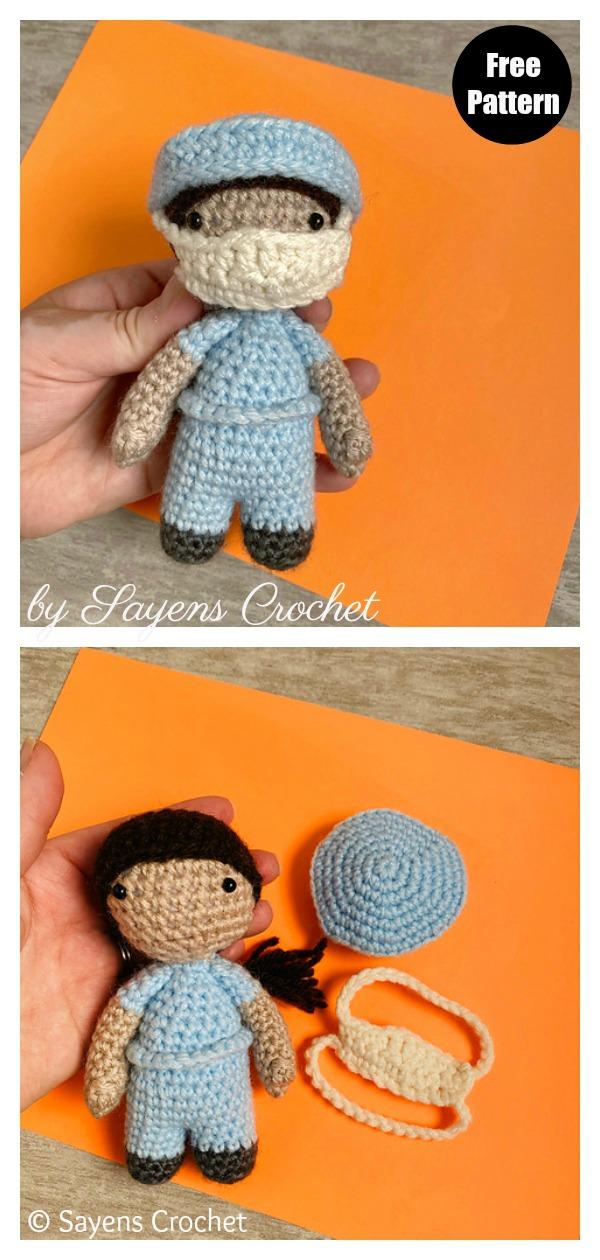 Amigurumi Ann the Nurse Free Crochet Pattern