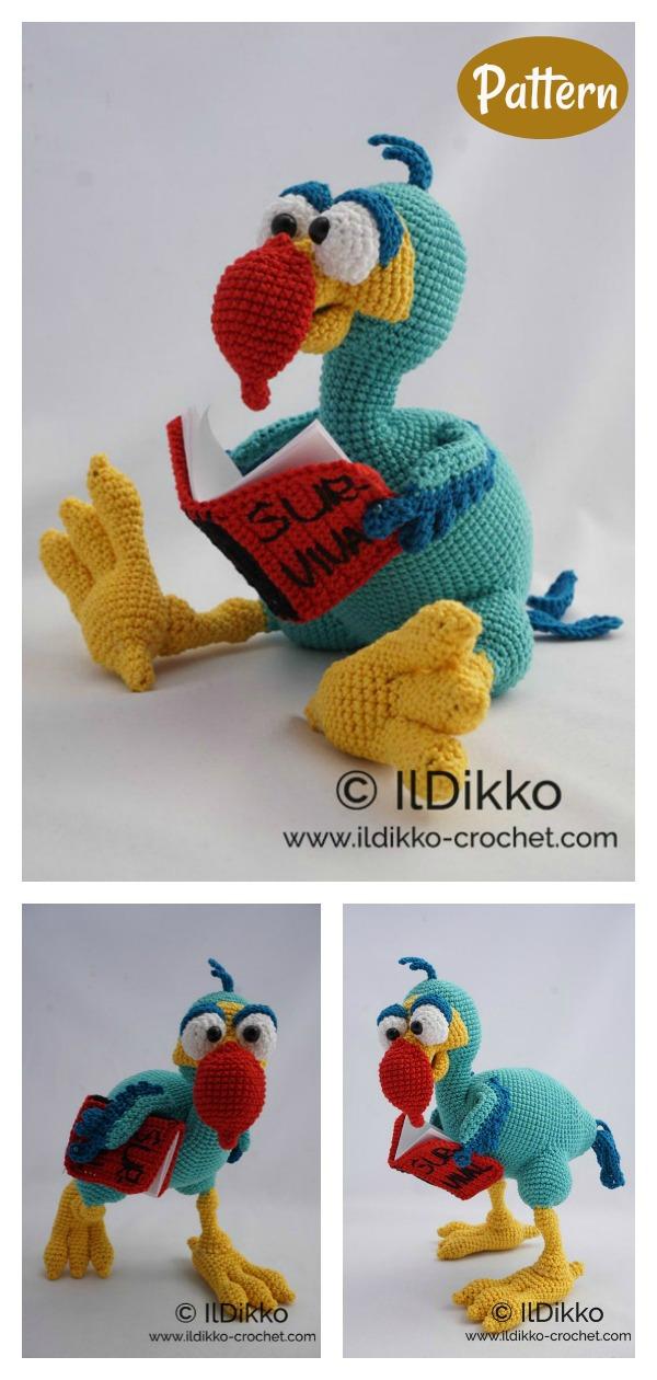 Amigurumi Dodo Crochet Pattern
